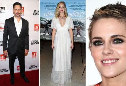 Joe Manganiello, Jennifer Lawrence and Kristen Stewart