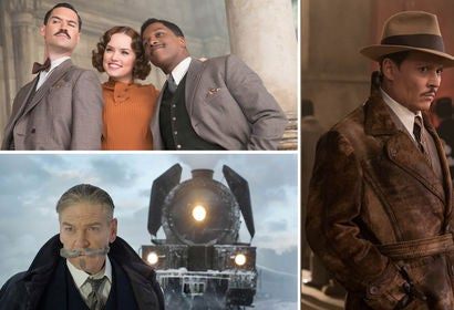 Manuel Garcia-Fulfo, Daisy Ridley, Leslie Odom Jr., Kenneth Branagh and Johnny Depp