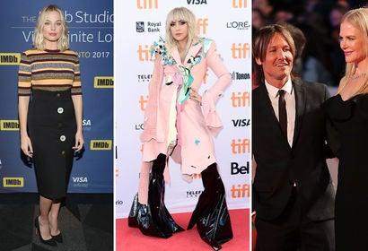 Margot Robbie, Lady Gage and Keith Urban with Nicole Kidman