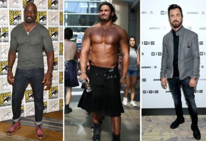 Mike Colter, Cosplay, Justin Theroux