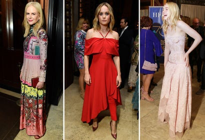 Nicole Kidman, Brie Larson and Elle Fanning