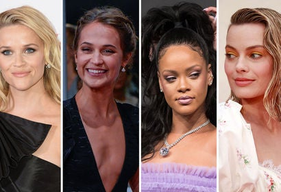 Reese Witherspoon, Alicia Vikander, Rihanna and Margot Robbie