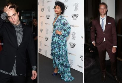 Robert Pattinson, Kiersey Clemons and Justin Hartley