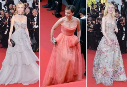 Diane Kruger, Kristin Scott Thomas and Elle Fanning