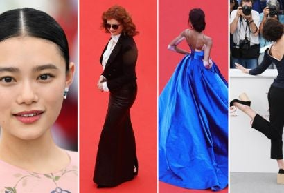 Hana Sugisaki, Susan Sarandon, Winnie Harlow and Jeanne Balibar