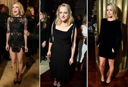 Emma Roberts, Elisabeth Moss and Margot Robbie