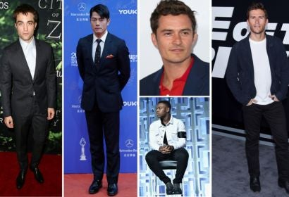 Robert Pattinson, Aaron Kwok, Orlando Bloom, John Boyega and Scott Eastwood