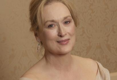 Actress Meryl Streep, Golden Globe winner, athe 2007 Golden Globe Awards
