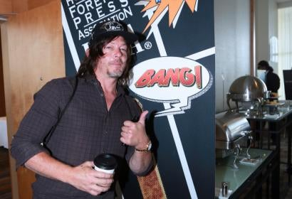 Actor Norman Reedus at Comic-Con 2016