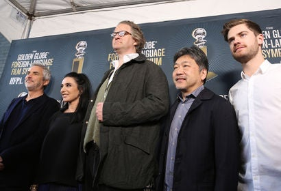 Alfonso Cuarón, Nadine Labaki, Florian Henckel von Donnersmarck, Hirokazu Kore-eda, Lukas Dhont