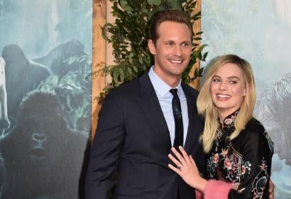 "Alexander Skarsgård, Margot Robbie on ""The Legend of Tarzan"""