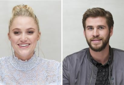 Maika Monroe and Liam Hemsworth