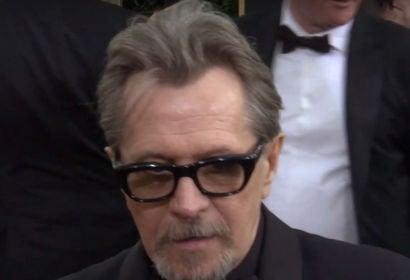 Gary Oldman on 75th Golden Globes Red Carpet