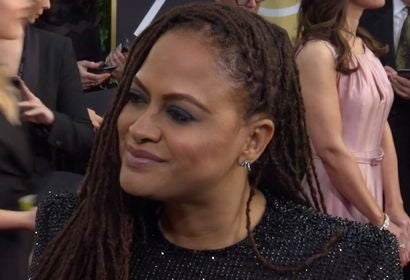Ava DuVernay on 75th Golden Globes Red Carpet