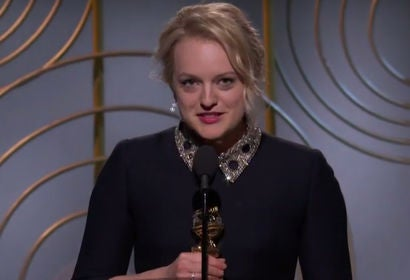 Elisabeth Moss Wins Best Actress in TV Series Drama