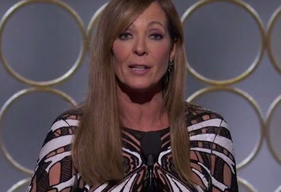 Allison Janney Wins Best Supporting Actress in a Motion Picture