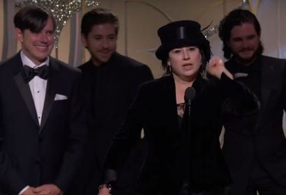 The Marvelous Mrs. Maisel Wins Best TV Series Musical or Comedy - GG 2018