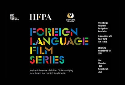 2nd Annual Foreign Language Film Series - Nov. 21, 2020