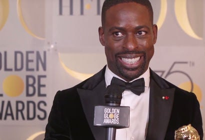 Sterling K Brown - Winners Stage