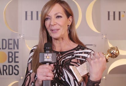 Allison Janney - Winners Stage