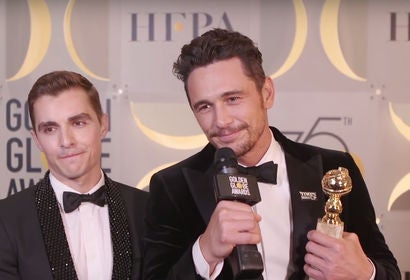 James Franco - Winners Stage