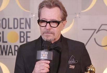Gary Oldman - Winners Stage