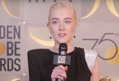 Saoirse Ronan - Winners Stage