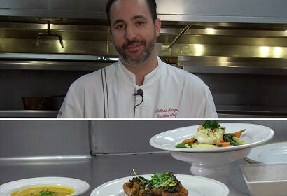 Matthew Morgan, Executive Chef, Beverly Hilton Hotel