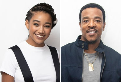 Amandla Stenberg , Russell Hornsby
