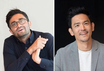Aneesh Chaganty and John Cho