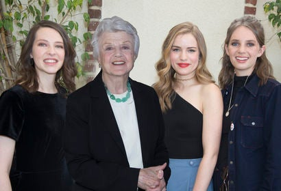 Annes Elway, Angela Lansbury, Willa Fitsgerald and Maya Hawke