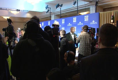 Backstage at the 76th Golden Globes Nominations