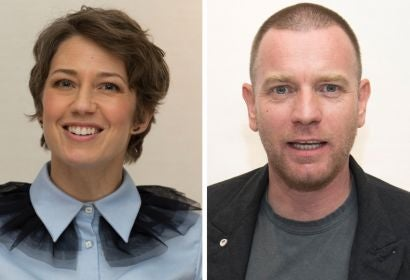 Carrie Coon and Ewan McGregor
