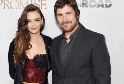 Charlotte Le Bon and Christian Bale