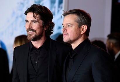 Christian Bale, Matt Damon