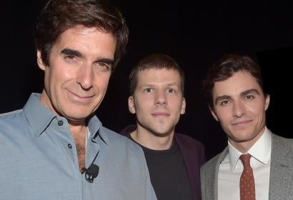 David Copperfield, Jesse Eisenberg and Dave Franco