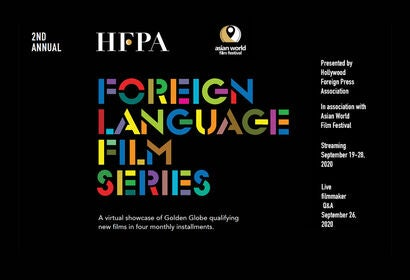 2nd Annual Foreign Language Film Series - Sept. 26,, 2020