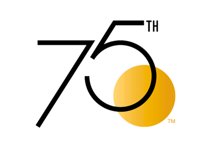 75th Anniversary Award Logo