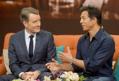 "Bryan Cranston and Benjamin Bratt on ""The Infiltrator"""
