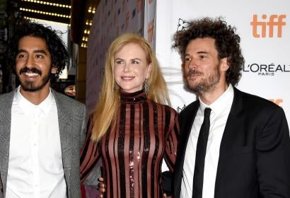"Nicole Kidman, Dev Patel and Garth Davis at TIFF preimiere of ""Lion"""