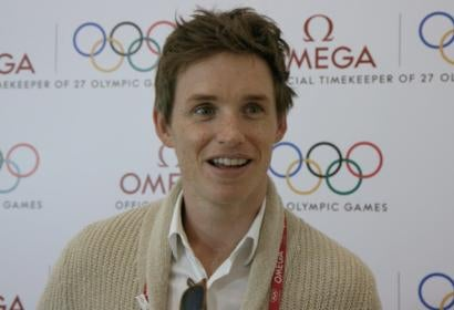 Eddie Redmayne Sets the Time at the Rio Olympics
