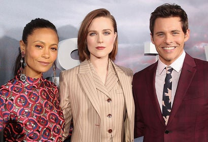 Thandie Newton, Evan Rachel Wood and James Marsden