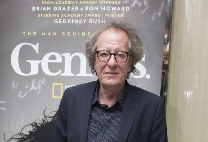 "Geoffrey Rush on ""Genius"" and Albert Einstein"