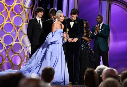 "Lady Gaga and ""Shallow"" at the 2019 Golden Globes"