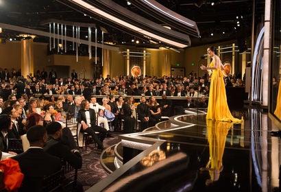 Rachel Brosnahan at the 2019 Golden Globes