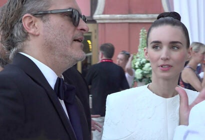 Joaquin Phoenix and Rooney Mara at HFPA Reception - Venice 2019