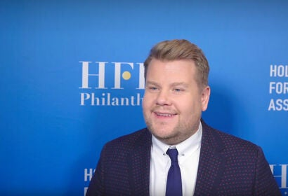 James Corden - HFPA Grants Presenters 2019