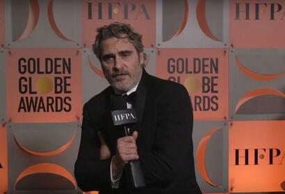 Best Actor Drama Film — Joaquin Phoenix