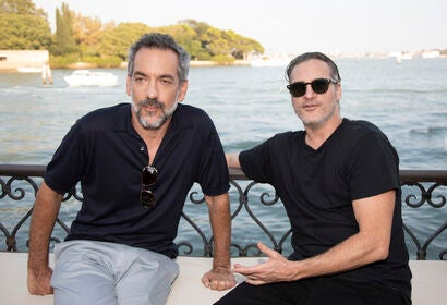 Todd Phillips, Joaquin Phoenix at 2019 Venice Film Festival