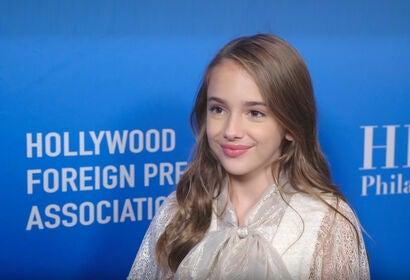 Julia Butters - HFPA Grants Presenters 2019